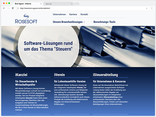Web-Relaunch bei Rosesoft: ab jetzt mit TYPO3 CMS!